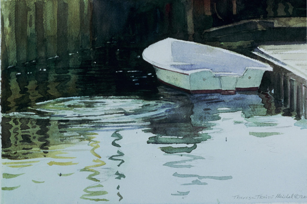 Dinghy-Reflections-Sold
