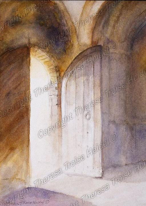 Doorway-Castle-Rising-UK