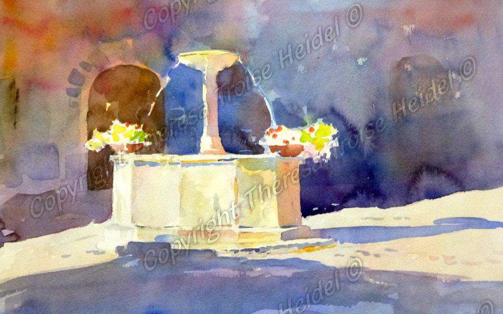 Fountain-in-Light