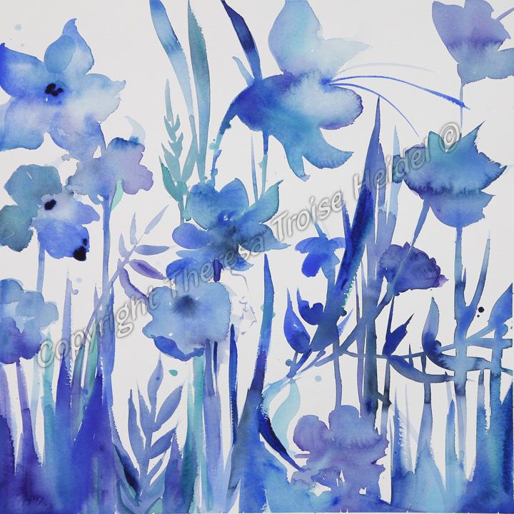 Blue-Flowers-IV-©