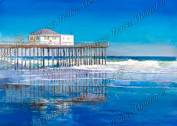 Blue-Reflections-Ocean-Grove-Pier-Sold