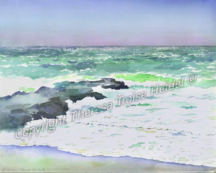 Emerald Ocean Sold