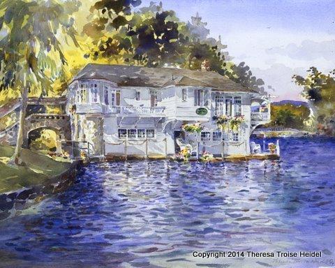 The Boathouse, Bolton Landing, Lake George
